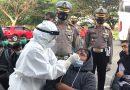 Ditlantas Polda Aceh Gelar Tes Swap Antigen Gratis Kepada Penumpang Bus di Terminal Batoh