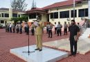Polres Nagan Raya Laksanakan Apel Gelar Pasukan Operasi Ketupat Seulawah 2021