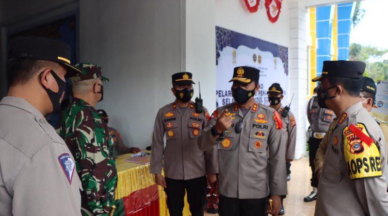 Kapolda Aceh dan Pangdam IM Kunjungi Pos Pam di Pelabuhan Ulee Lheue dan Terminal Batoh