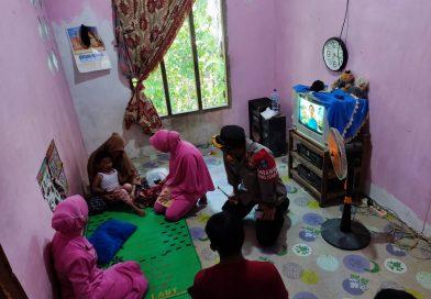 Kapolres Nagan Raya Kunjungi Kediaman Bocah 4 Tahun Korban Begal