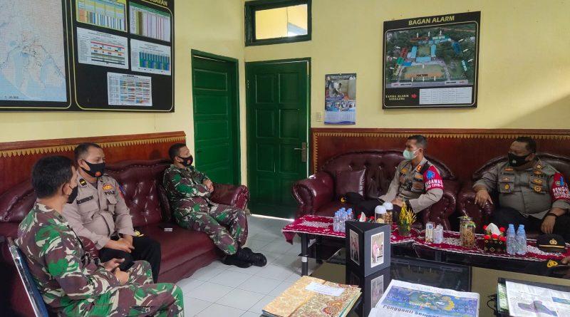 Kunjungan Kapolres Nagan Raya Ke Kodim 0116 Nagan Raya Dalam Rangka Silaturahmi