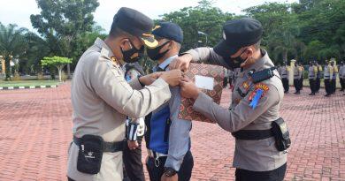 Polres Nagan Raya Apel Gelar Pasukan Operasi Patuh Seulawah 2021